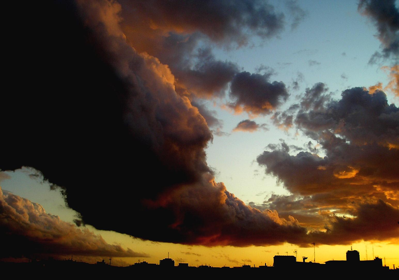 Mollet 23 d'Octubre de 2008, Després de la tempesta de finals d'estiu ...